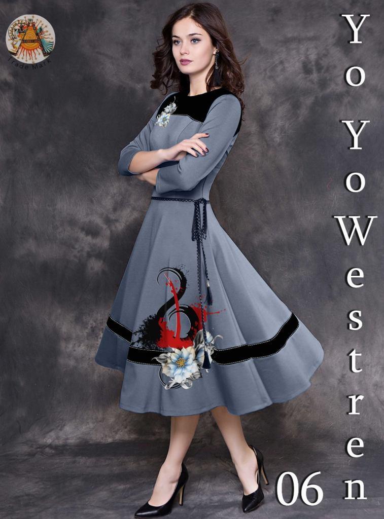 Buy Beautiful Prints Western Wear at Rs