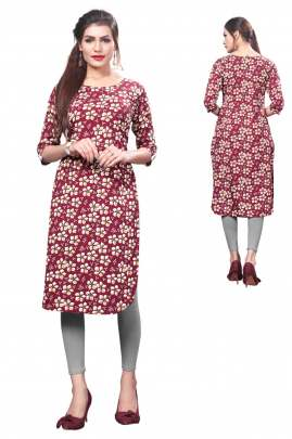 Digital Printed Straight kurtis