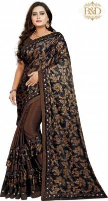 Fancy Ruffle Sarees
