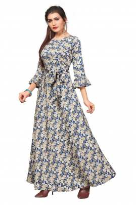 Long Ethnic Gown