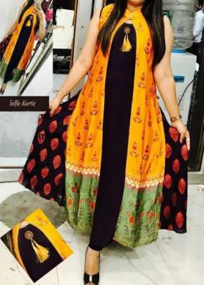 Long fancy   kurti 1