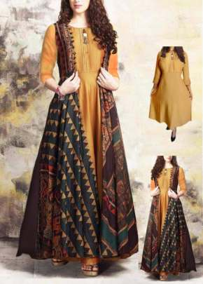 Long fancy   kurti 4