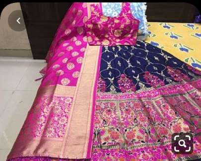 Party Wear Banarasi brocade Lehenga With Padded Blouse And Banarasi Dupatta