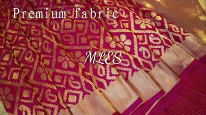 Party Wear Kanjivaram Silk Saree 3