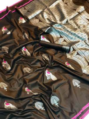 kesari silk saree