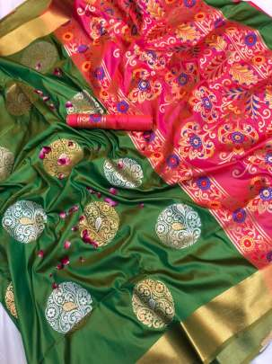pethani silk saree