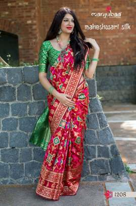 silk weaving saree